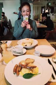 コウコの朝食